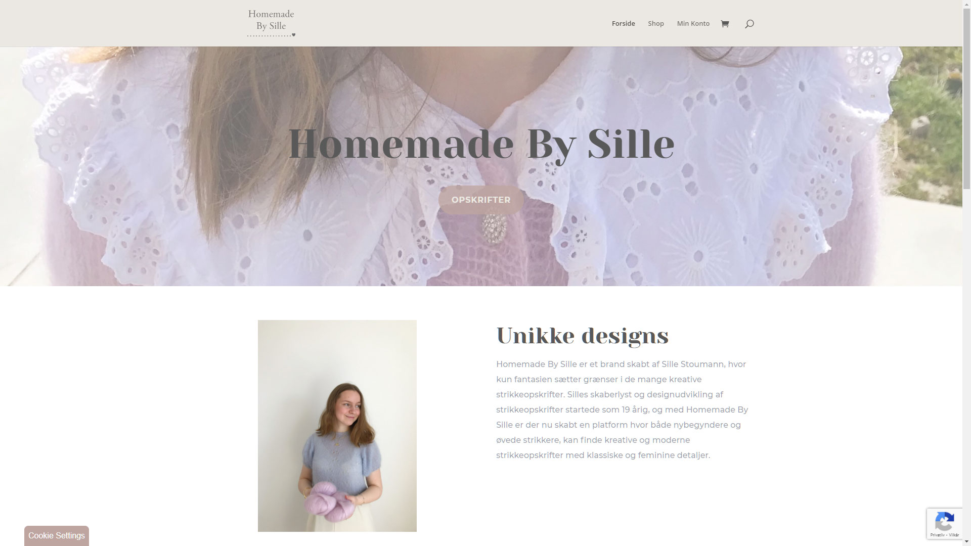 Homemade By Sille webshop
