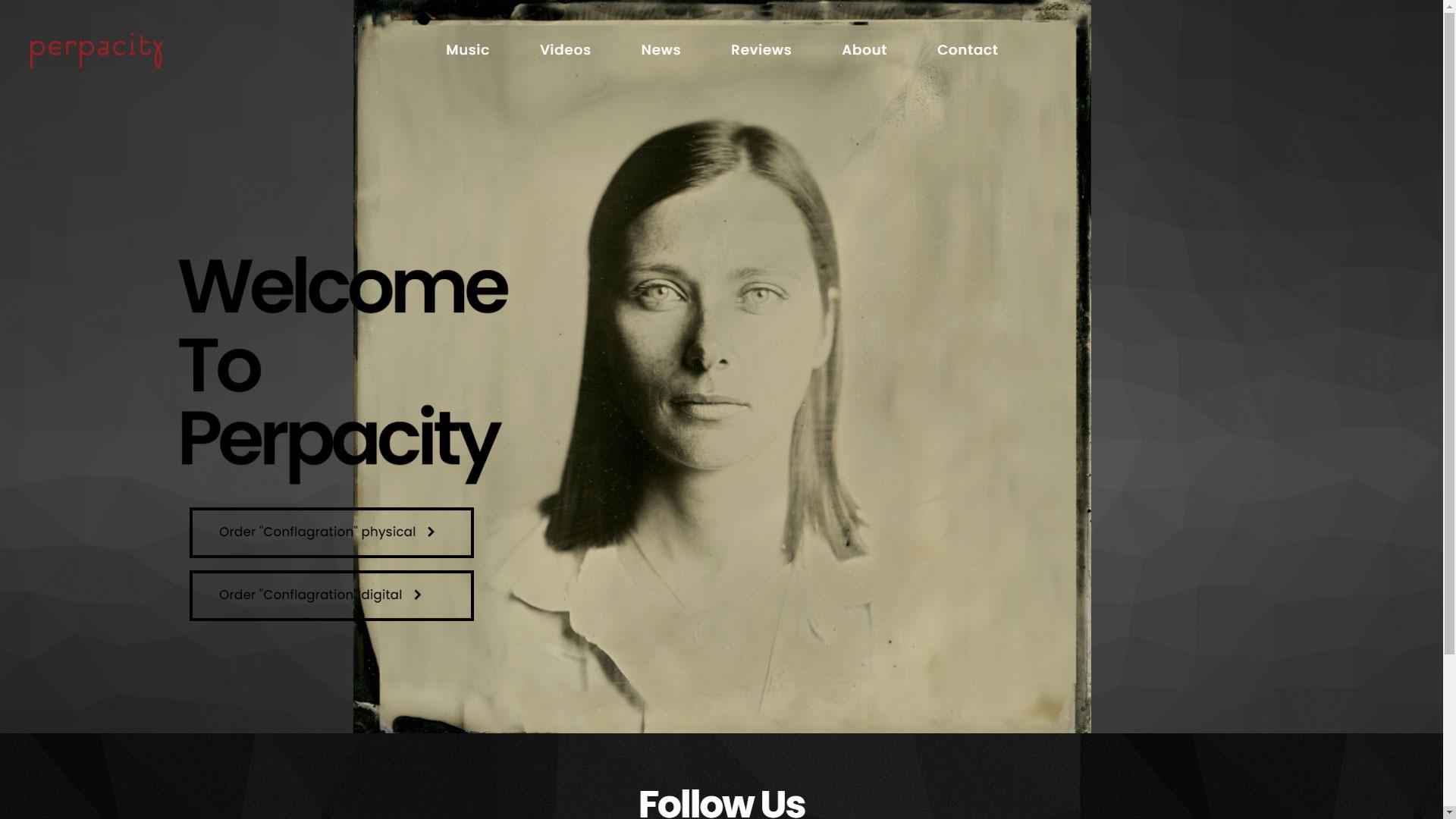 Perpacity website